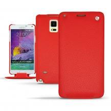 NoreveNoreve Flipfodral av äkta läder till Note 4 - Röd