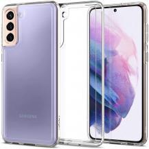 SpigenSPIGEN Ultra Hybrid Skal Galaxy S21 Crystal Clear