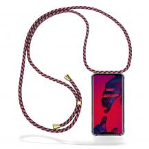 CoveredGear-NecklaceCoveredGear Necklace Case Huawei Mate 20 Pro - Red Camo Cord