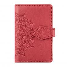 OEMMandala kreditkortshållare för smartphones - Röd