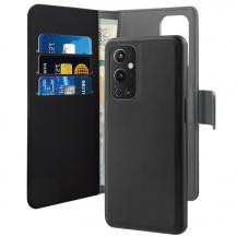 PuroPuro – Detachable Plånboksfodral OnePlus 9 Pro - Svart