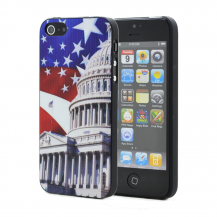 OEMBaksidesskal till Apple iPhone 5/5S/SE - Amerika