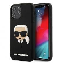 KARL LAGERFELDKarl Lagerfeld iPhone 12 & 12 Pro Skal3D Karl`s Head