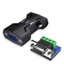 UGrönUGreen RS232 to RS485 Adapter Svart