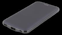 STREETZDELTACO Power Bank, portablet batteri, 10000mAh, 2,4A, 37Wh, USB-C, marinblå