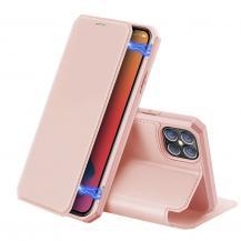 Dux DucisDux Ducis Auto-absorbed Läder Plånboksfodral iPhone 12 Pro Max - Rose Gold