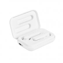 PuroPuro – TW Stereo Bluetooth Earphones 5.0 - Vit