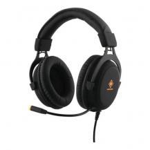 Deltaco GamingDeltaco Stereo Headset, 57mm element, LED belysning, svart