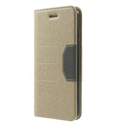 Plånboksfodral till Apple iPhone 6 / 6S (Gold)