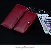 JLWJLW universalt plånboksfodral Large - Röd