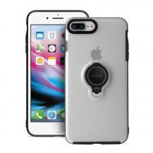 PuroPuro Magnet Ring Cover iPhone 8 Plus/7 Plus - Transparent