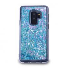 CoveredGearGlitter Skal till Samsung Galaxy S9 Plus - Blå