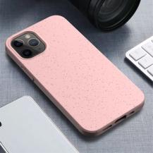 OEMWheat Straw Eco-Vänling Mobilskal iPhone 12 Mini - Rosa