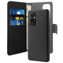 PuroPuro – Detachable Plånboksfodral OnePlus 9 - Svart