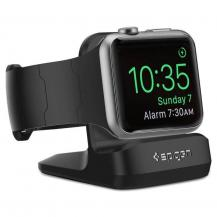 SpigenSpigen S350 Night Stand Apple Watch 1/2/3/4 Svart