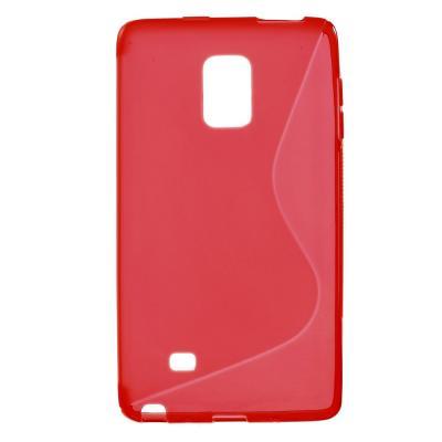 Flexicase Skal till Samsung Galaxy Note Edge - Röd