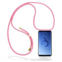 CoveredGear-NecklaceCoveredGear Necklace Case Samsung Galaxy S9 - Pink Cord
