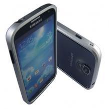 OEMAluminium Bumper Skal till Samsung Galaxy S4 i9500 (Silver)