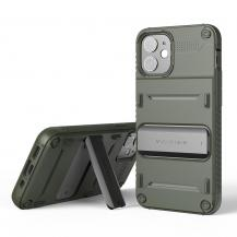 VERUSVRS DESIGN | Damda QuickStand Skal iPhone 12 Mini - Grön