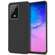 A-One BrandTwill Texture Flexicase Skal till Samsung Galaxy S20 Ultra - Svart