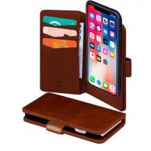 SiGNSiGN Plånboksfodral 2-in-1 för iPhone X/XS - Brun