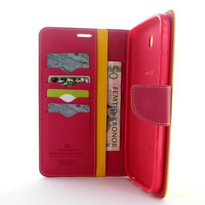 Mercury Fancy Diary Plånboksfodral till Samsung Galaxy Tab 3 7,0 (Gul)