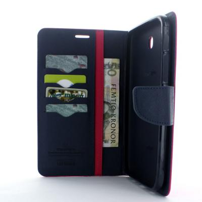 Mercury Fancy Diary Plånboksfodral till Samsung Galaxy Tab 3 7,0 (Magenta)