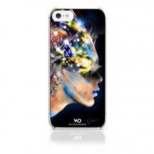 White DiamondsWhite Diamonds Nafrotiti till Apple iPhone 5/5S/SE- Svart