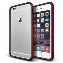 VERUSVerus Iron Bumper Skal till Apple iPhone 6 / 6S (Röd - Svart)