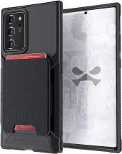 GhostekGhostek | Magnetic Wallet Korthållare Skal Galaxy Note 20 Ultra - Svart
