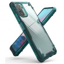 RingkeRingke - Fusion X Mobilskal Xiaomi Redmi Note 10 - Turquoise Green