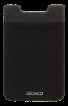 DeltacoKreditkortshållare för smartphones - Svart
