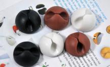 A-One Brand6 Pack - Självhäftande hållare för sladdar