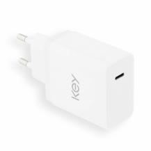 KEYKey USB-C Adapter 5V/3.0A/18W - White