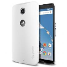 SpigenSPIGEN Thin Fit Skal till Google Nexus 6 (Vit)