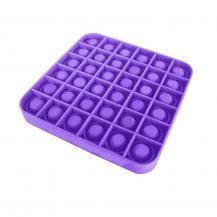 Fidget ToysPop it Fidget Sensory Leksak - Fyrkant - Lila