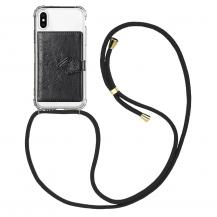 CoveredGear-NecklaceiPhone 7/8 Necklace Case med kreditkortshållare