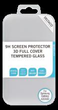 DeltacoSkärmskydd för Galaxy A30/A50, 2.5D härdat glas