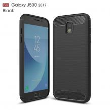 OEMCarbon Brushed Skal till Samsung Galaxy J5 (2017) - Svart