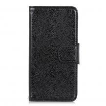 A-One BrandNappa äkta läder plånboksfodral Oneplus 8T - Svart