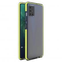 HurtelSpring Case skal Redmi 10X 4G/Redmi Note 9 gul