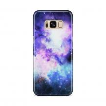 Skal till Samsung Galaxy S8 - Rymden - Lila/Blå
