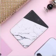 FlovemeFloveme Card Holder - Marble Vit