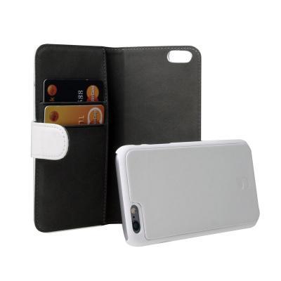 GEAR 2.0 Plånboksfodral med magnetskal till iPhone 6 / 6S - Vit
