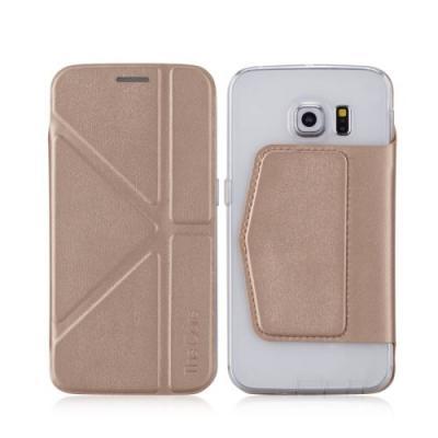 Momax The Core MobilFodral till Samsung Galaxy S6 Edge - Guld