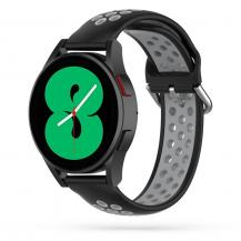 Tech-ProtectSoftband Samsung Galaxy Watch 4 40/42/44/46 mm - Svart/Grå