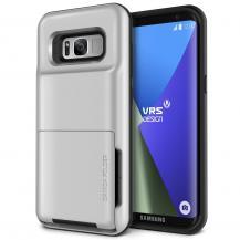 VERUSVerus Damda Folder Card Slot Skal till Samsung Galaxy S8 - Silver