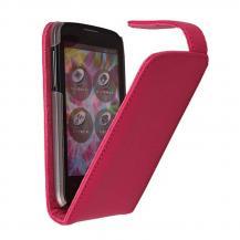 DoormoonDoormoon leather mobilväska till ZTE Blade 3 (Rosa)