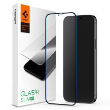 SpigenSpigen | FC Härdat Glas iPhone 12 | 12 Pro - Svart