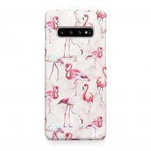 TheMobileStore Slim CasesDesigner Skal till Samsung Galaxy S10 - Pat2223
